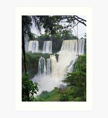 Iguazu Falls - Puerto Iguazu, Argentina Art Print
