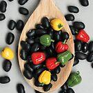 Black Beans & Bell Peppers by Stephanie KILGAST