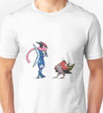 Ash Greninja and Talonflame T-Shirt