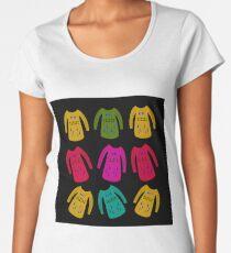 Hipster cute sweaters vintage Women's Premium T-Shirt
