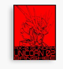 unicorn banshee Canvas Print