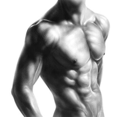 muscular body by mcoak