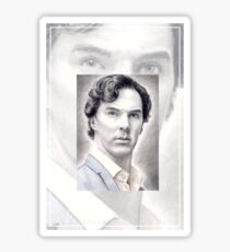 Benedict Cumberbatch miniature Sticker