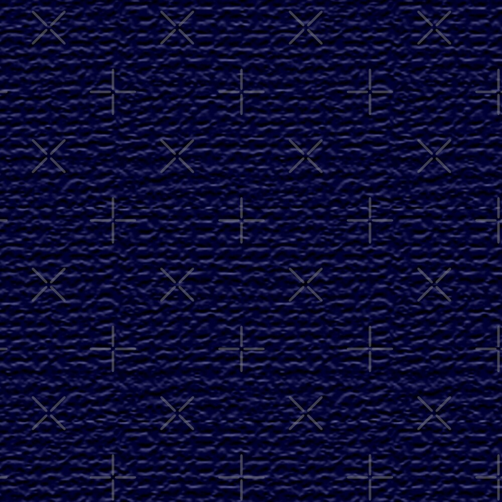 TEXTURED PATTERN IN DARK NAVY BLUE - BY OZCUSHIONSTOO by ozcushionstoo
