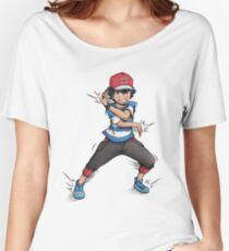 Alolan Ash Ketchum Women's Relaxed Fit T-Shirt