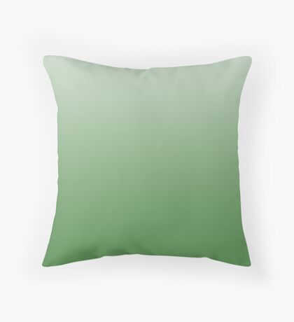 Bold Online Lime ombre Throw Pillow