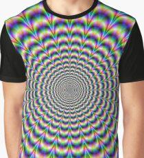 Camiseta gráfica Pulso psicodélico