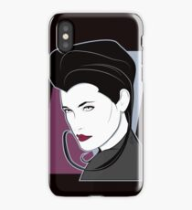 Female Sci Fi Spy iPhone Case