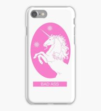 Pink Bad Ass Unicorn Phone Case  iPhone Case/Skin