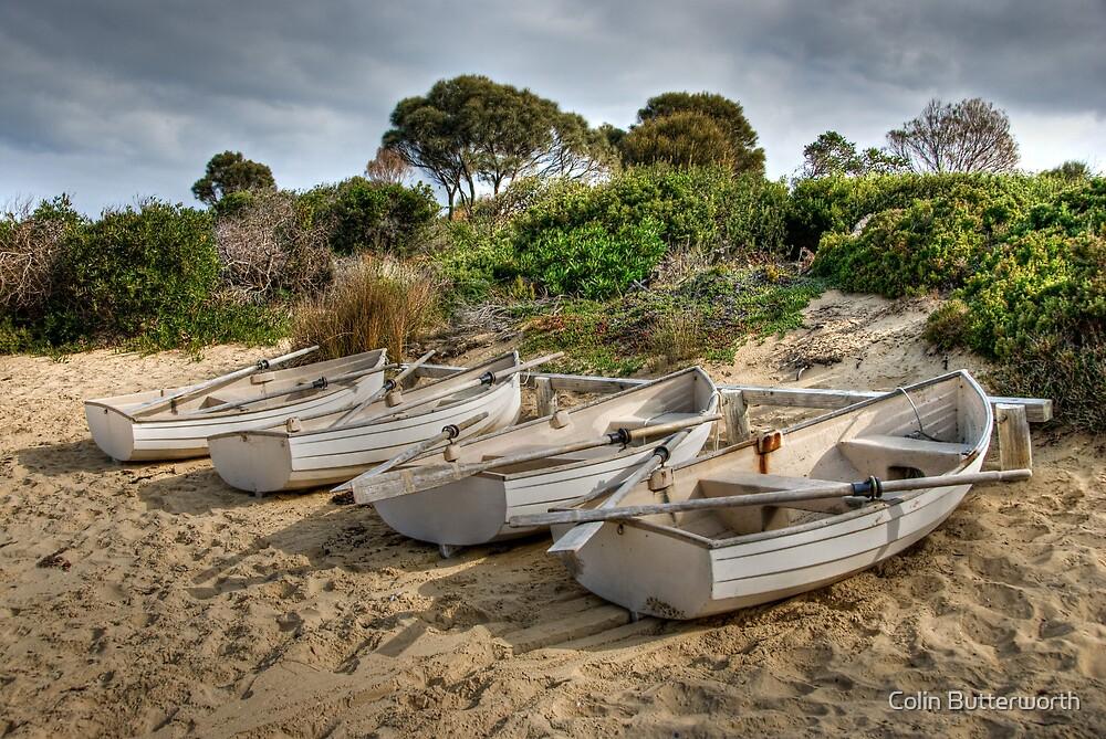 Freycinet Boats by Colin Butterworth