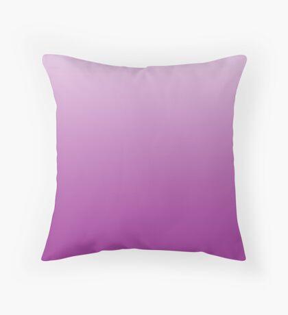 Intense Purple Cactus Flower ombre Throw Pillow