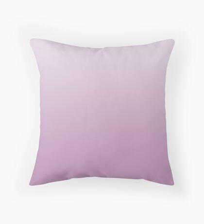 Smoky Grape purple ombre Throw Pillow