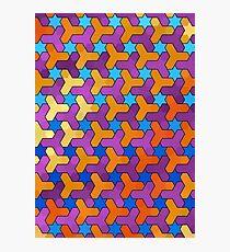 Star Pattern Photographic Print