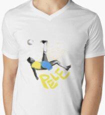Pele T-Shirt mit V-Ausschnitt
