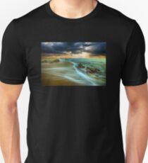 Waves On The Beach Shore T-Shirt