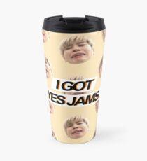 """I GOT YES JAMS"" - Jimin - Spaced Design Travel Mug"