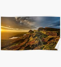Scotland Scenic Mountains And Hills Poster
