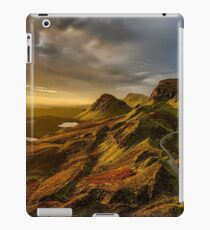 Scotland Scenic Mountains And Hills iPad Case/Skin