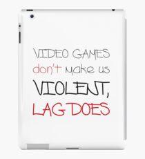 Video Games / Lag iPad Case/Skin