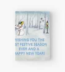Wishing you the Best Festive Season ever! Hardcover Journal