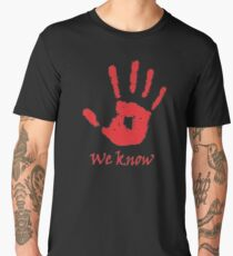 We Know Online Game Men's Premium T-Shirt