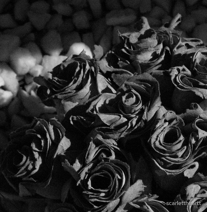 bouquet noir by scarlettheartt
