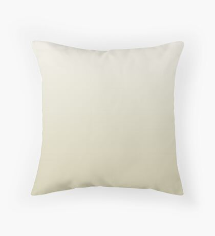 Dusty Moth yellow ombre Throw Pillow