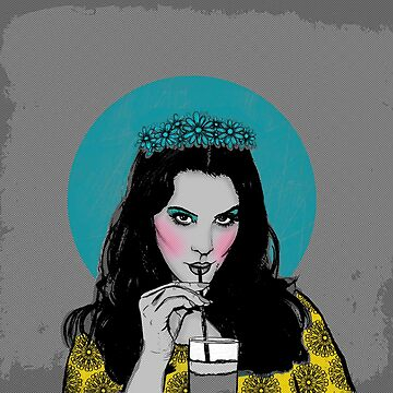 Lana del  pop art by theArtoflOve