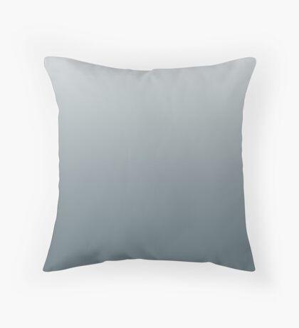Smoky Goblin Blue ombre Throw Pillow