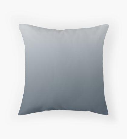 Dark Orion Blue ombre Throw Pillow