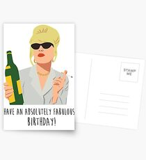 Have an absolutely fabulous birthday! Postcards