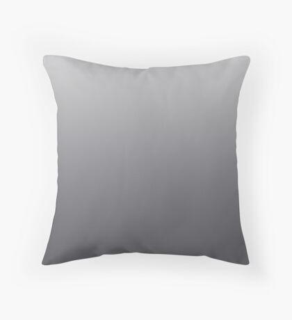 Dark Gray Pinstripe ombre Throw Pillow