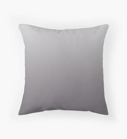 Dark Volcanic Glass brown ombre Throw Pillow