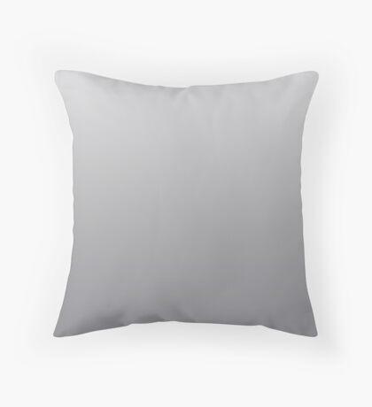 Light Sharkskin grey ombre Throw Pillow
