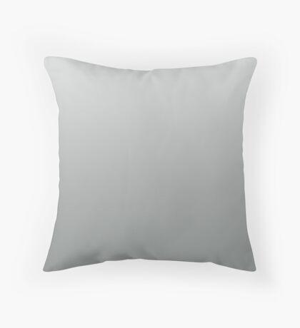 Neutral Gray ombre Throw Pillow