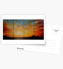 A Burst of Sky Postcards