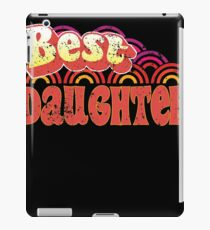 Best Daughter 70s Style Clothing iPad Case/Skin