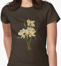 Double Narcissi In A Bouquet Isolated T-Shirt