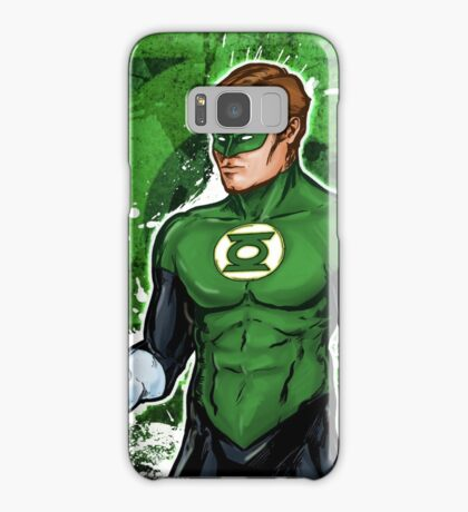 Green Super Hero Samsung Galaxy Case/Skin