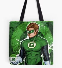 Green Super Hero Tote Bag