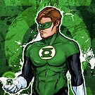 Green Super Hero by Patrick Scullin
