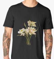 Double Narcissi Bouquet Vector Men's Premium T-Shirt