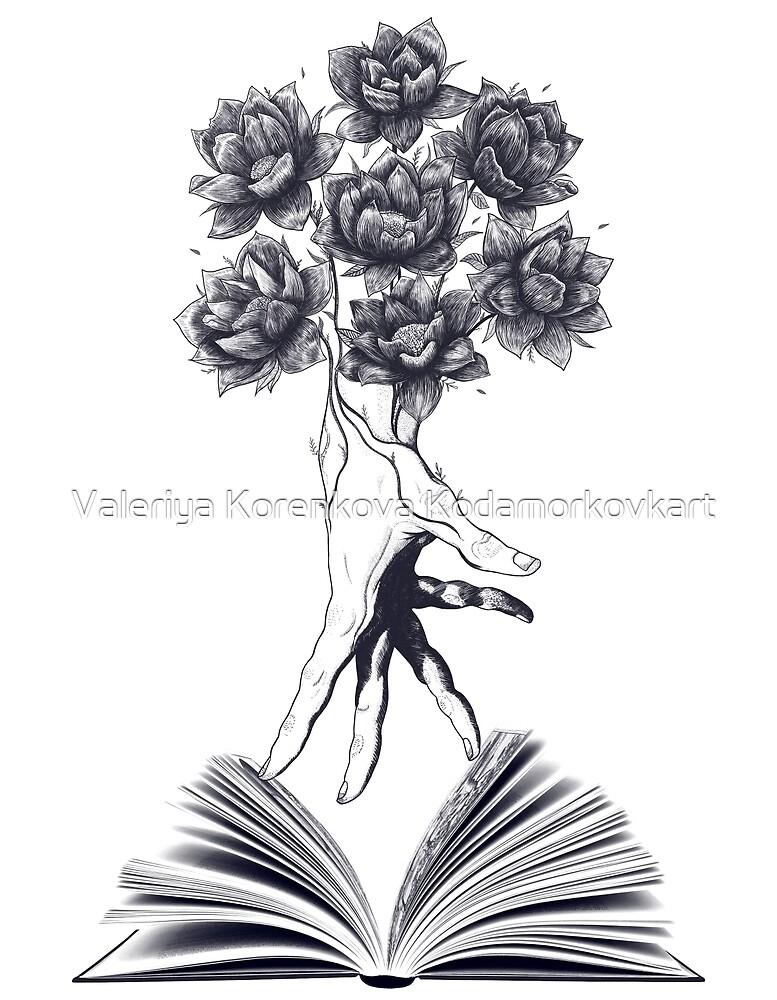 Power of knowledge by Valeriya Korenkova Kodamorkovkart