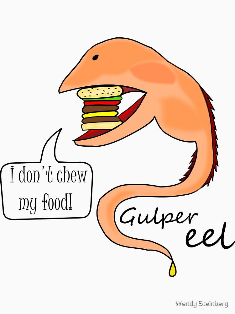 Gulper eel no mastica su comida de WendySteinberg
