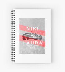 Niki Lauda: 3-Time Formula 1 World Champion Spiral Notebook
