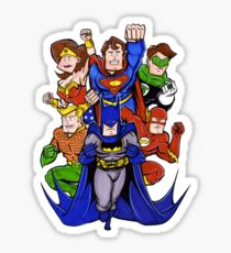 Super Heroes  Sticker