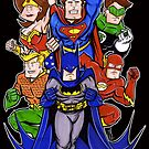 Super Heroes  by Patrick Scullin