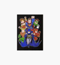 Super Heroes  Art Board