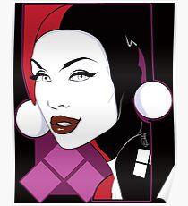 Female Super Villain Poster