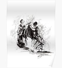 SAMURAI FIGHT, BUSHIDO, WAY OF THE WARRIOR poster, print Poster